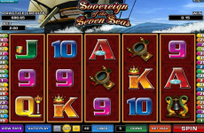 sovereign of the seven seas microgaming online slots