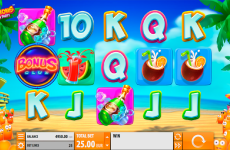 spinions beach party quickspin online slots
