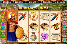 spirit of the inca rtg online slots