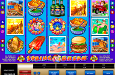 spring break microgaming online slots
