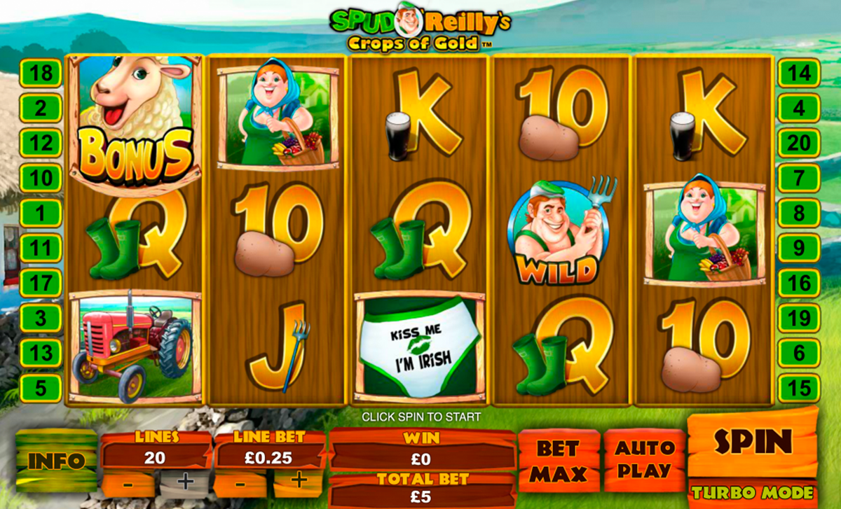 Spiele Spud OReillyS Crops Of Gold - Video Slots Online