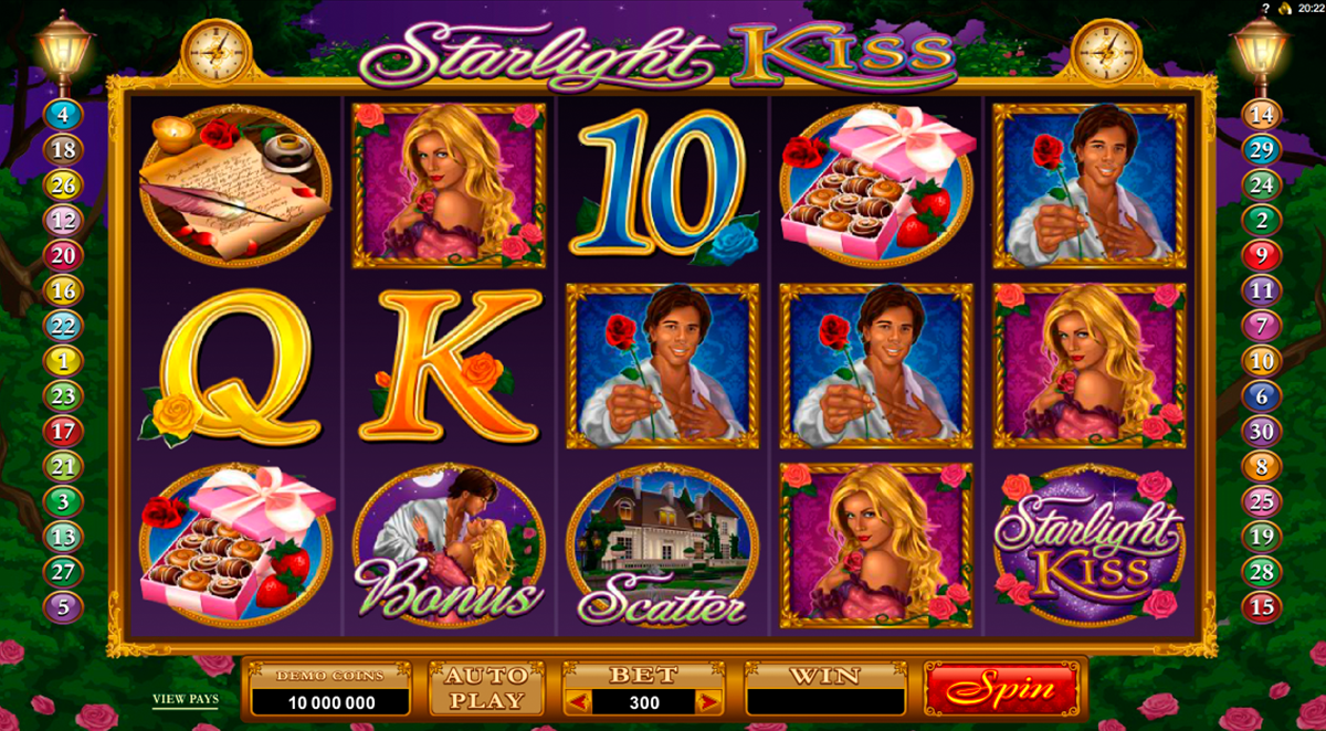 starlight kiss microgaming online slots