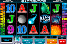 starscape microgaming online slots