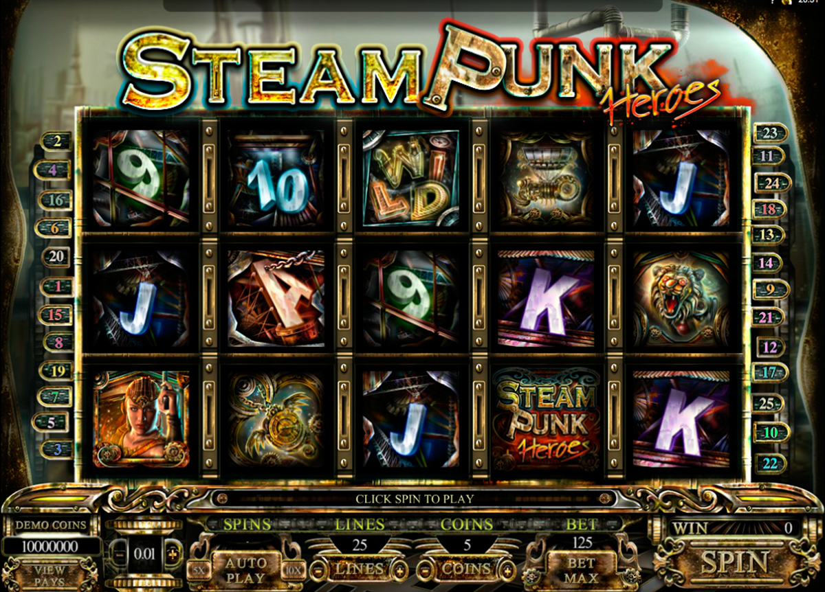 Steampunk Nation Slot Review & Free Instant Play Casino Game