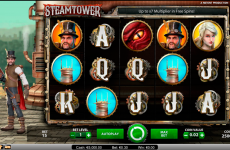 steam tower netent online slots