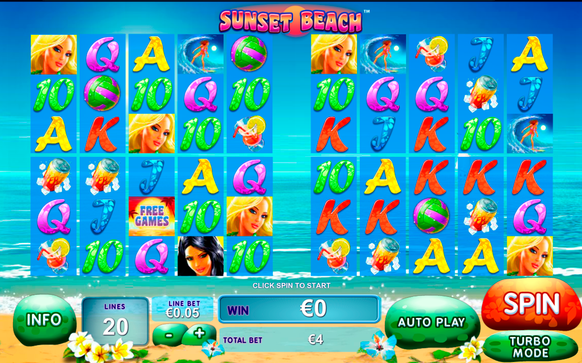 sunset beach playtech online slots