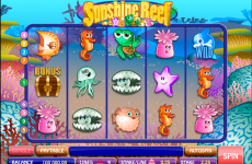 sunshine reef microgaming online slots