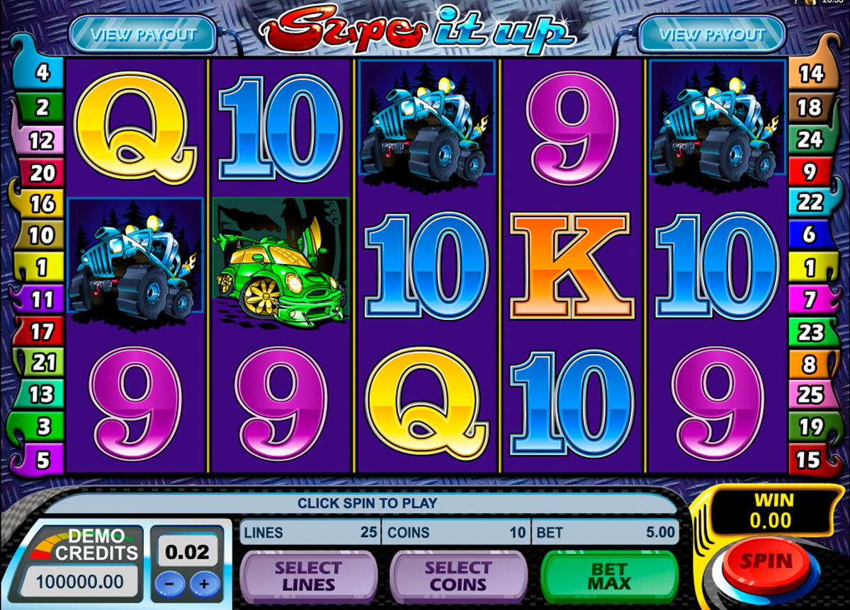 supe it up microgaming online slots