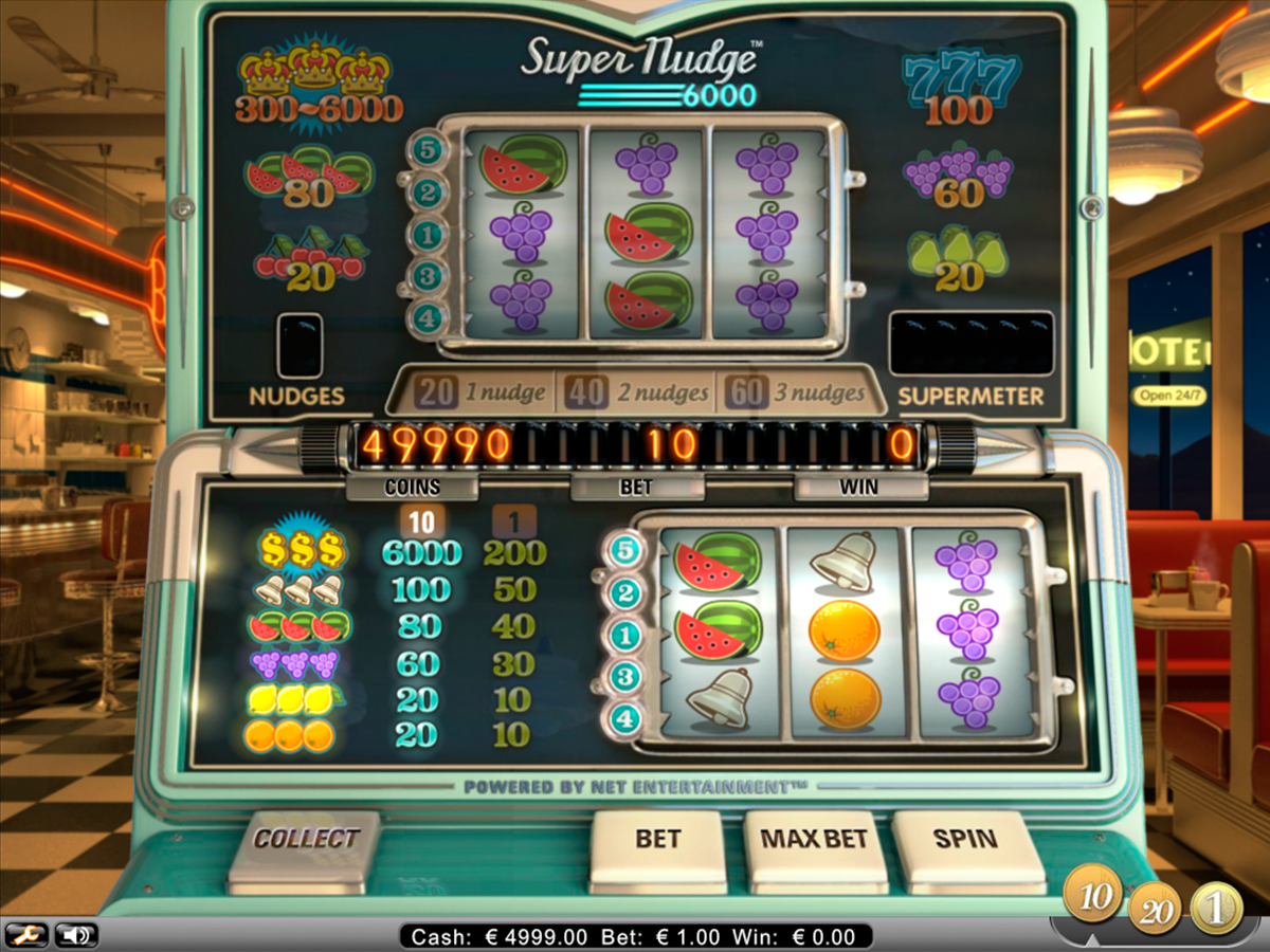 super nudge 6000 netent online slots