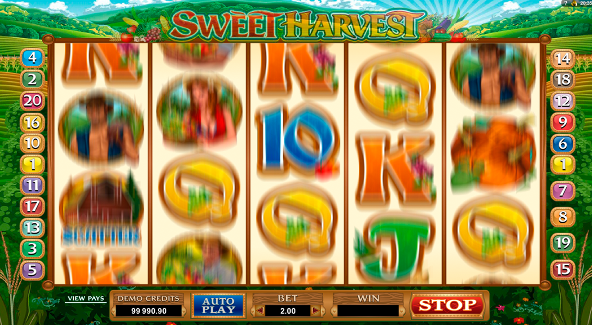 sweet harvest microgaming online slots