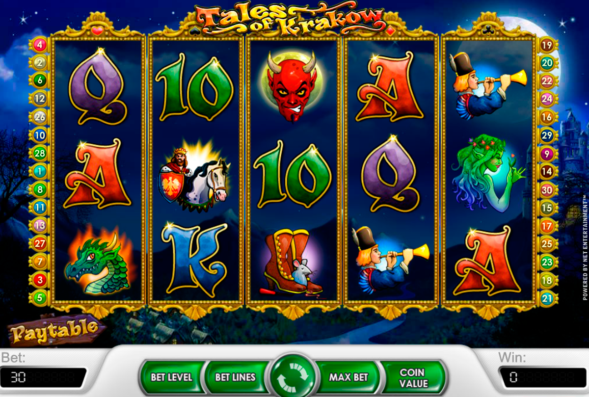 Tales Of Krakow™ Slot Machine Game to Play Free in NetEnts Online Casinos