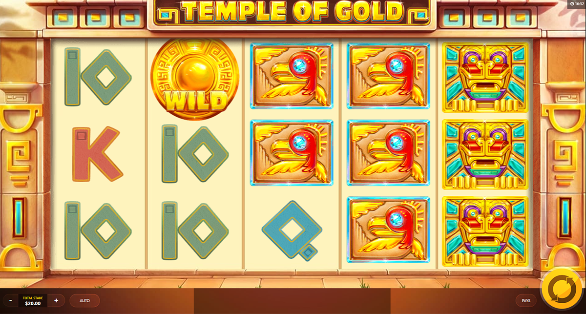 temple of gold red tiger online slots