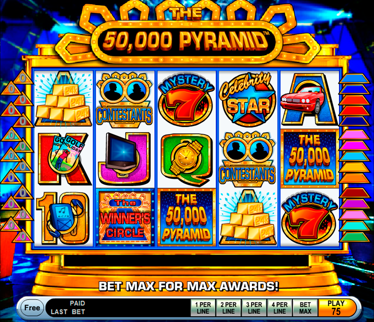 the 50000 pyramid igt online slots