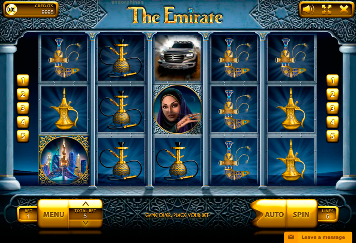 the emirate endorphina online slots