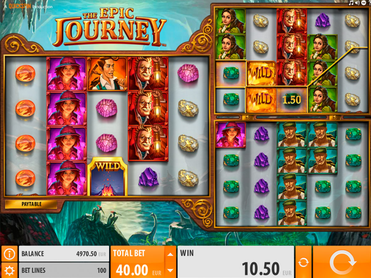 the epic journey quickspin online slots