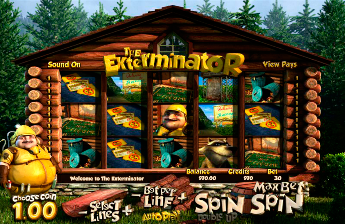 the exterminator betsoft online slots