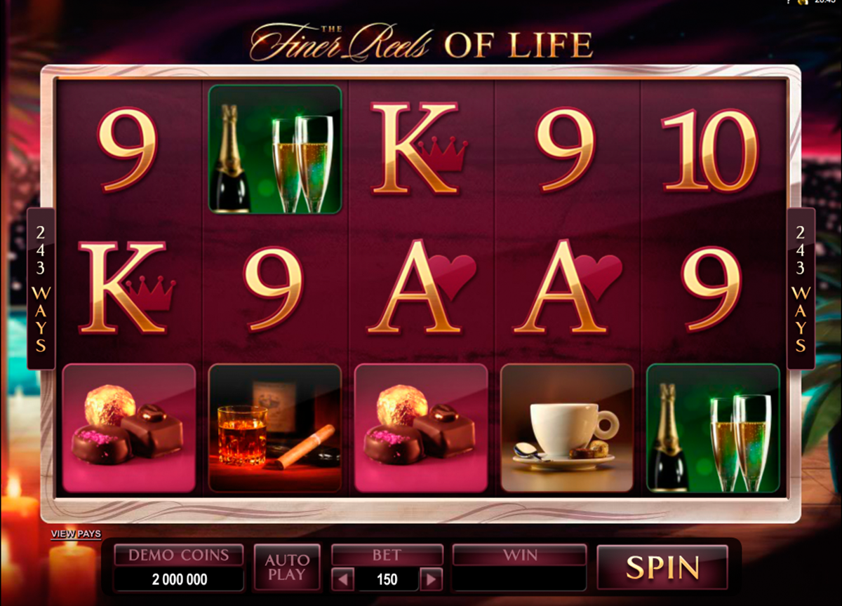 the finer reels of life microgaming online slots