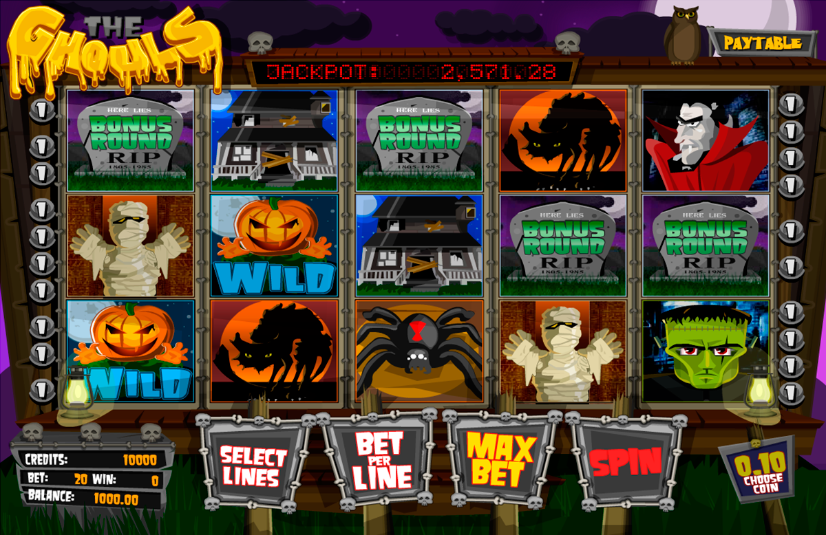 the ghouls betsoft online slots
