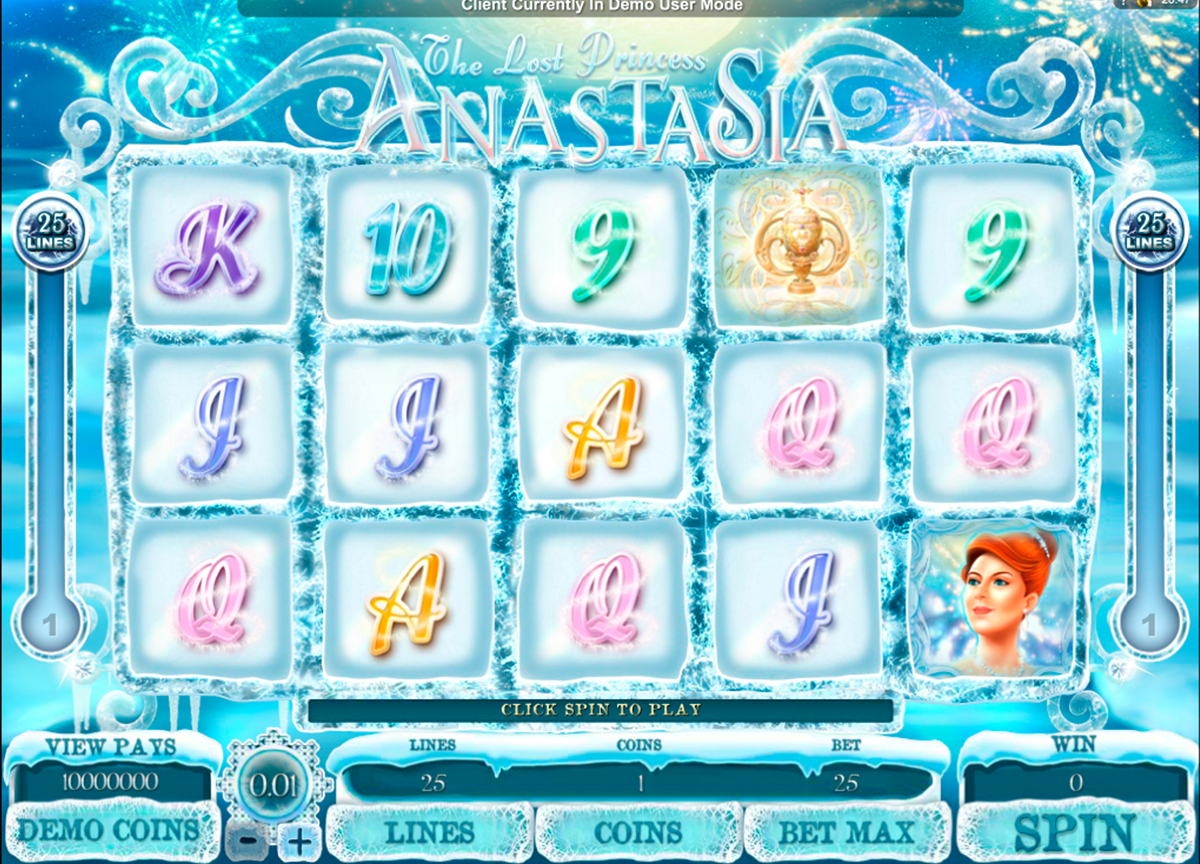 the lost princess anastasia microgaming online slots