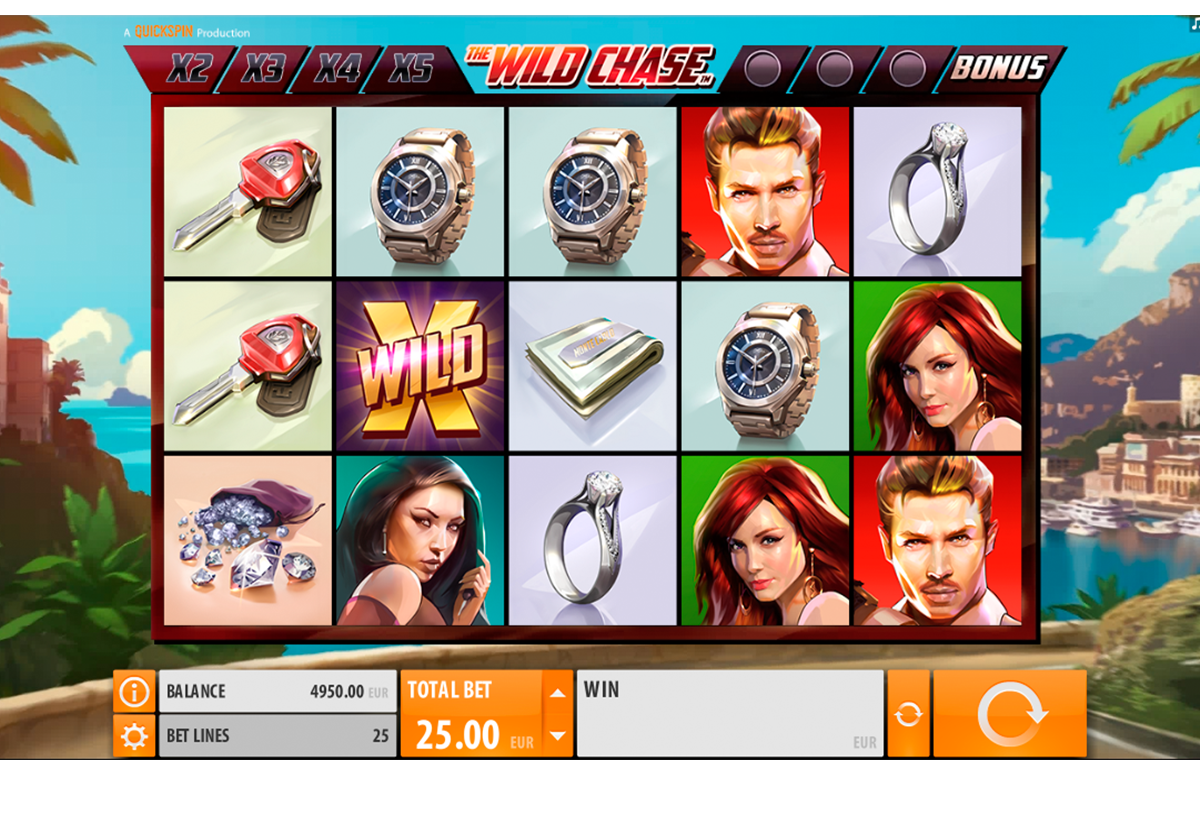 the wild chase quickspin online slots