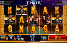 thor the mighty avenger playtech online slots