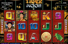 tiger moon microgaming online slots