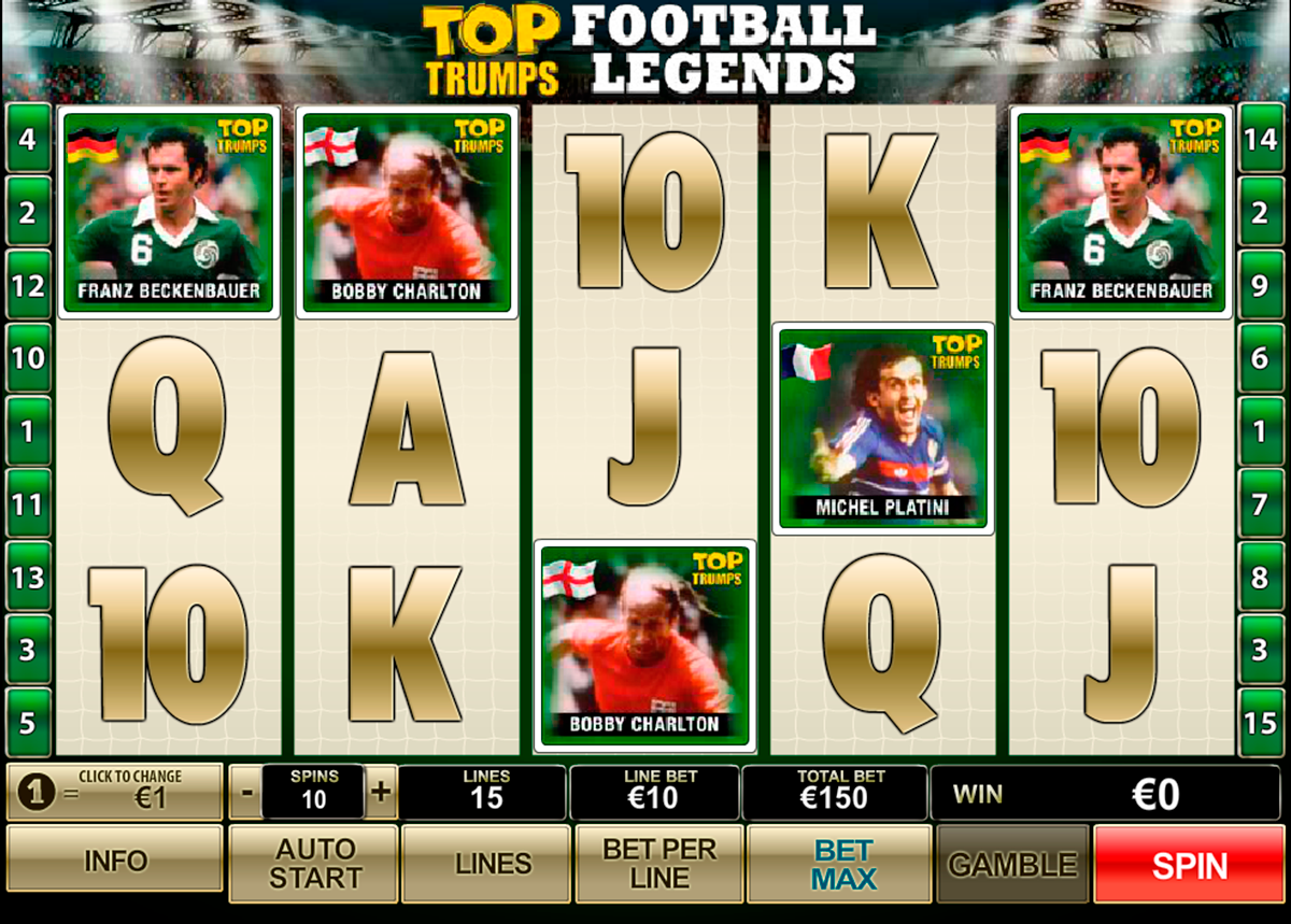 Top Trumps Football Legends Slot - Play Online for Free Now