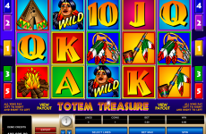 totem treasure microgaming online slots
