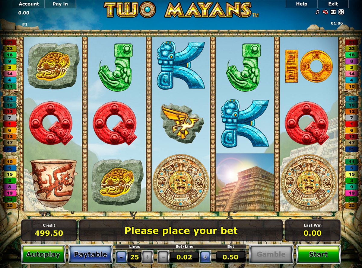 two mayans novomatic online slots