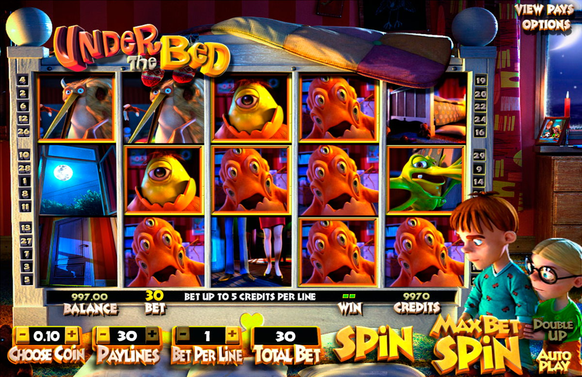under the bed betsoft online slots