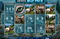 untamed wolf pack microgaming online slots