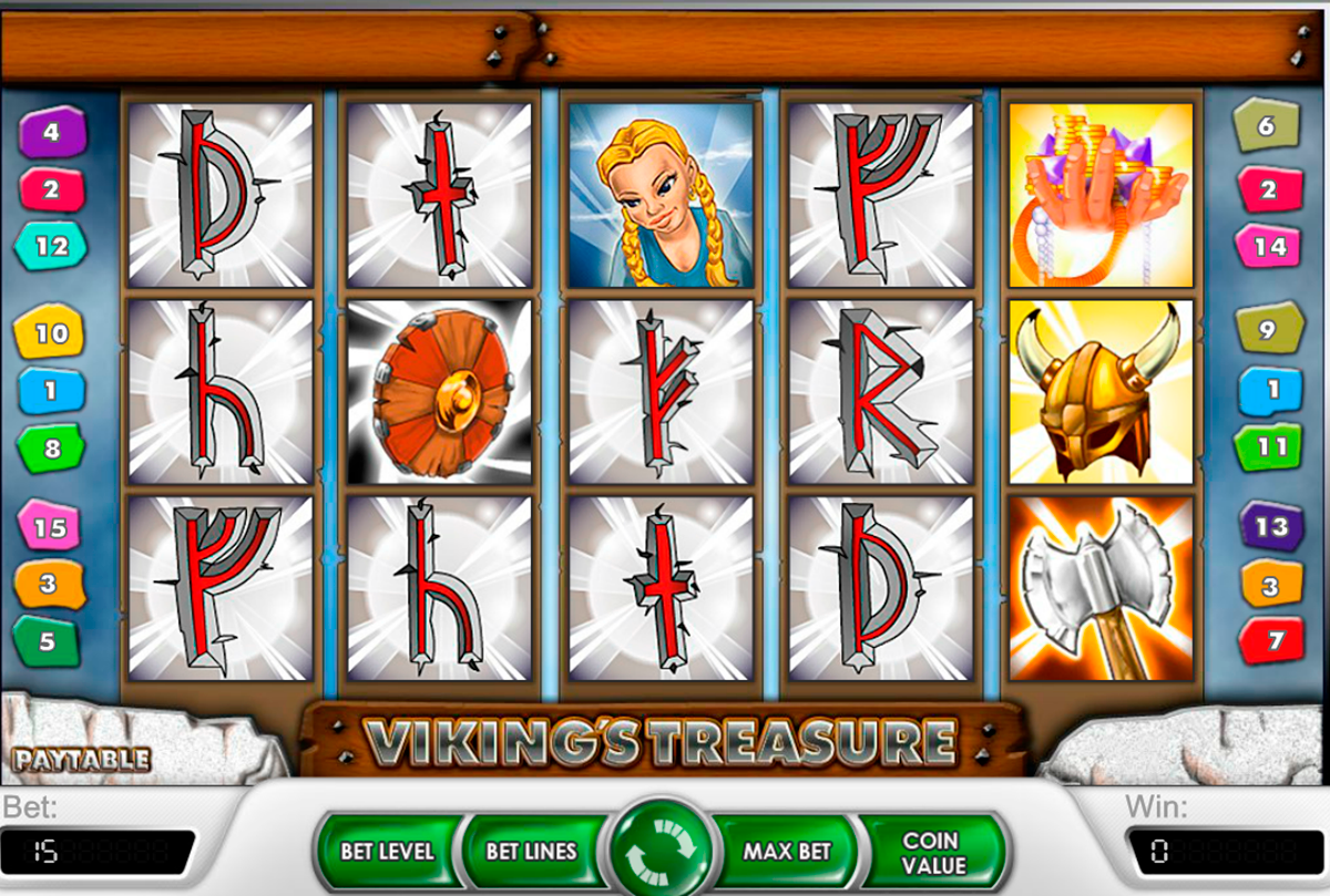 vikings treasure netent online slots