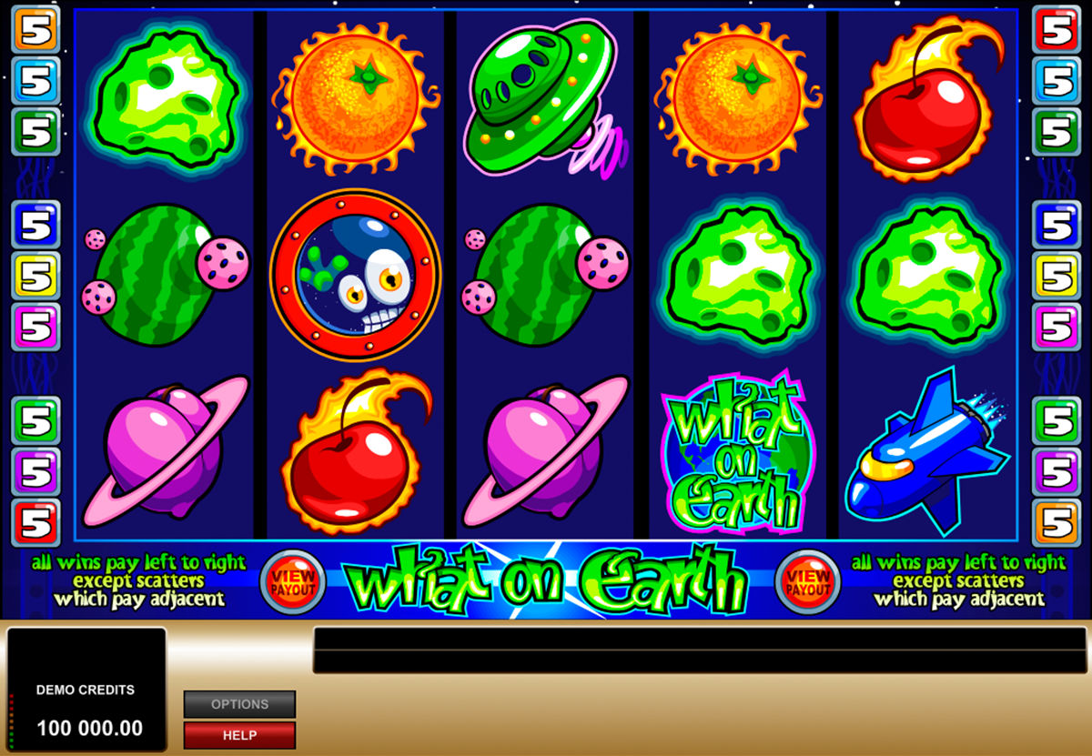 what on earth microgaming online slots