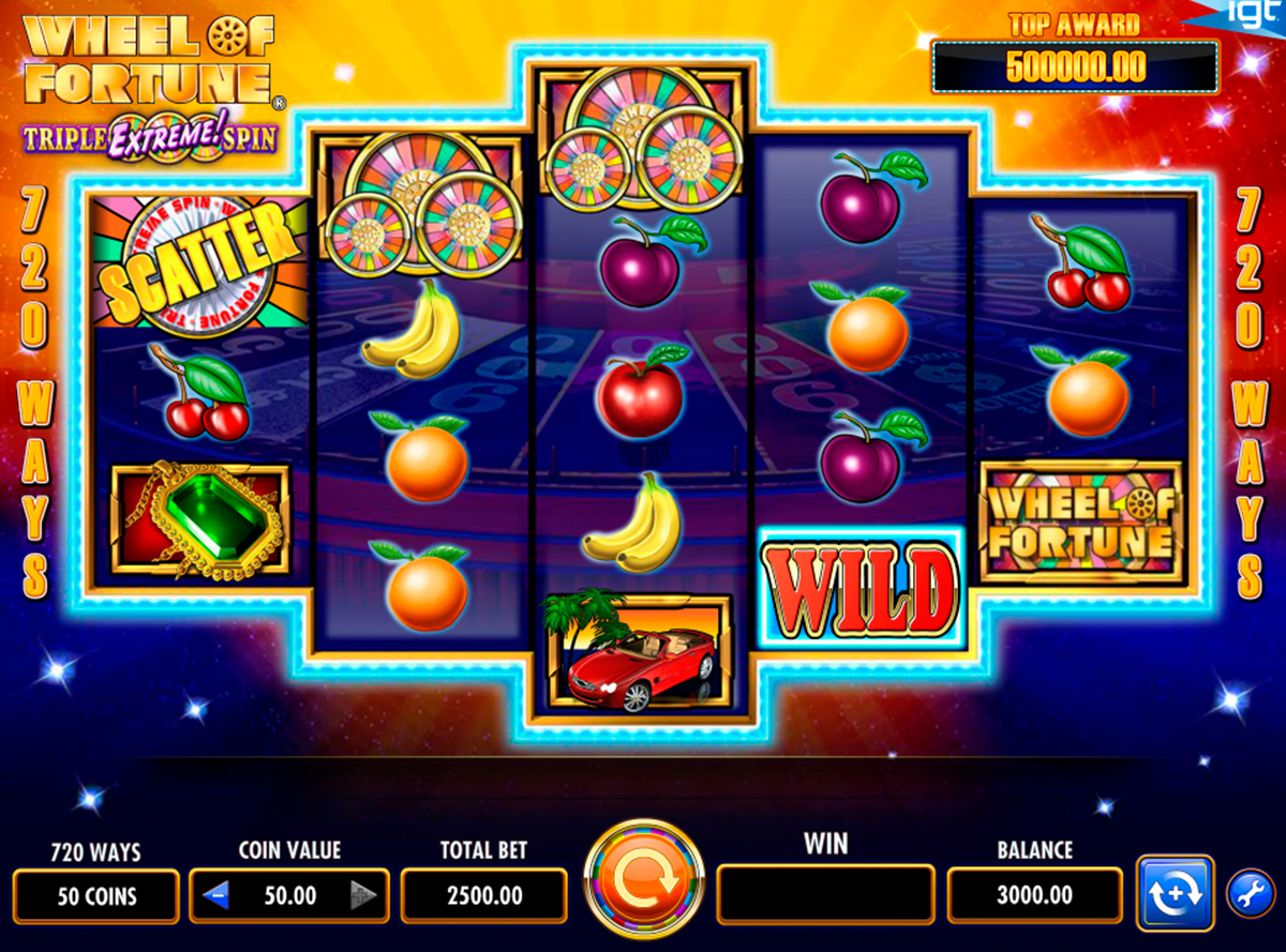 wheel of fortune igt online slots