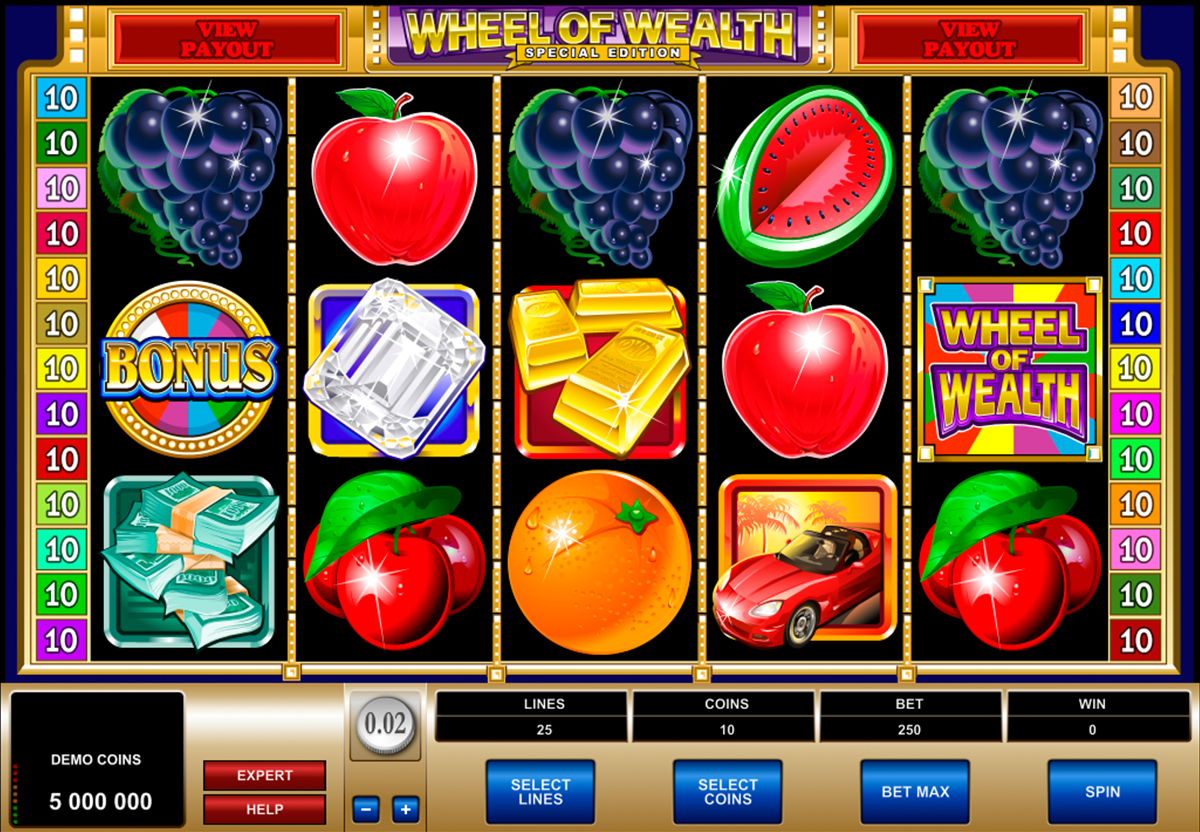 wheel of wealth special edition microgaming online slots