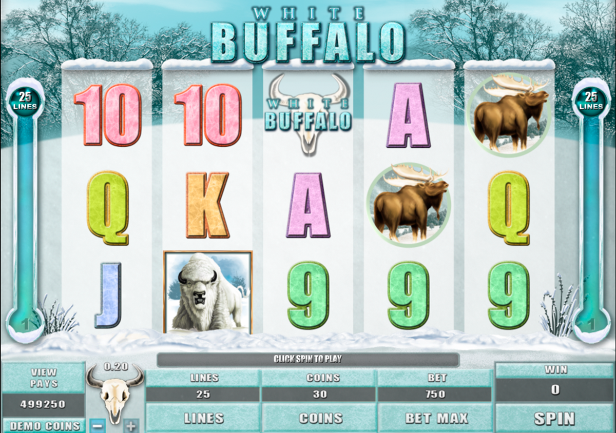 white buffalo microgaming online slots