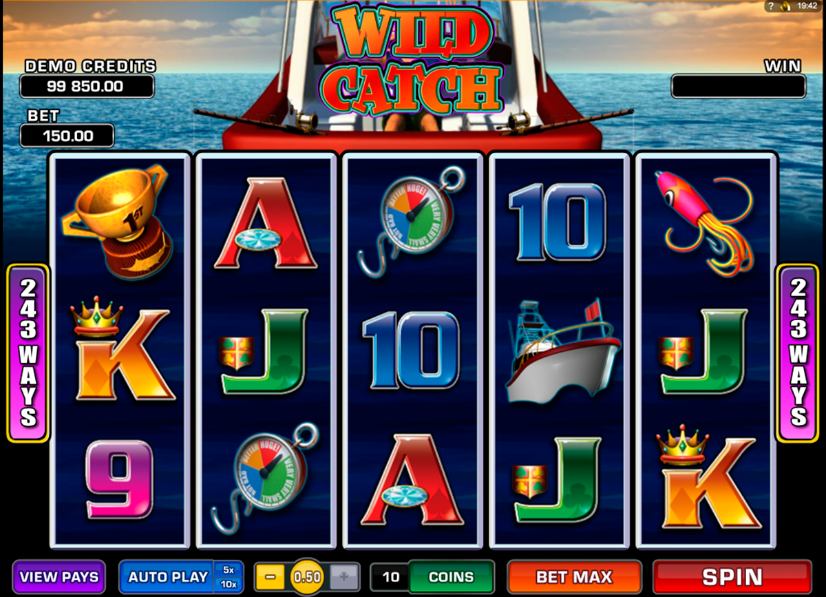 wild catch microgaming online slots