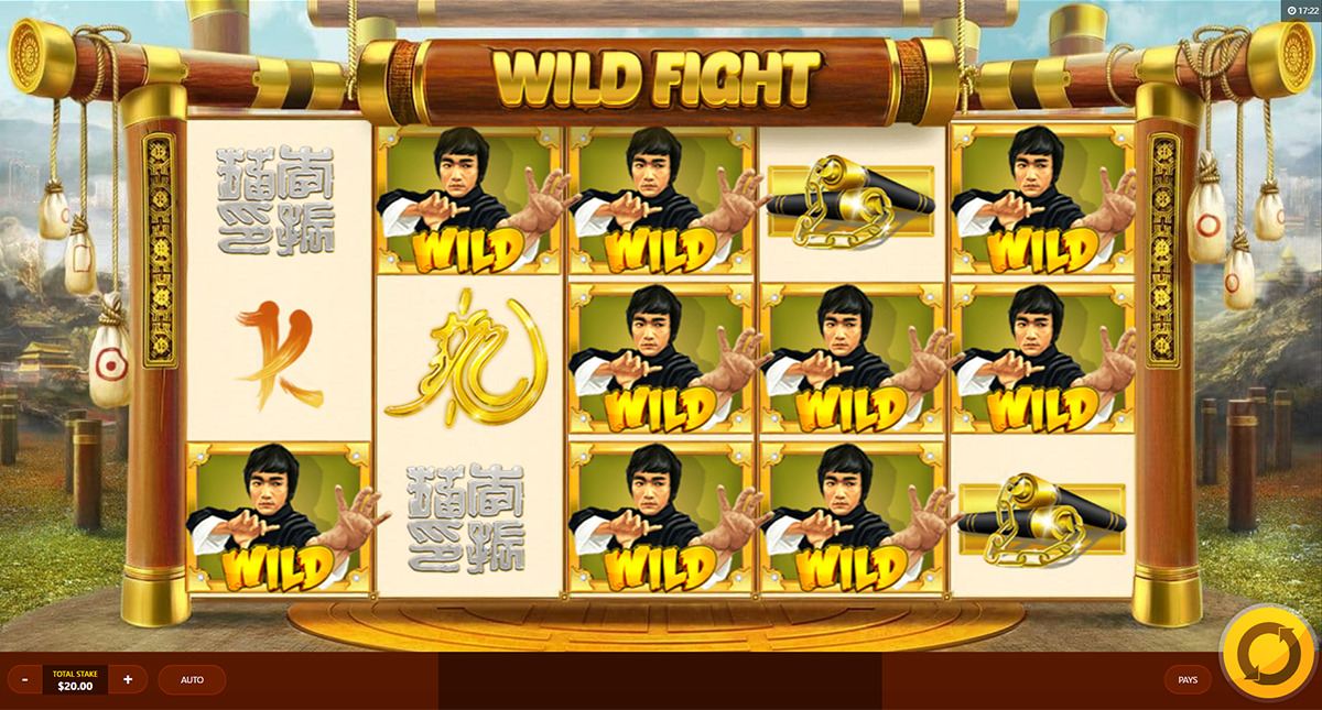 wild fight red tiger online slots