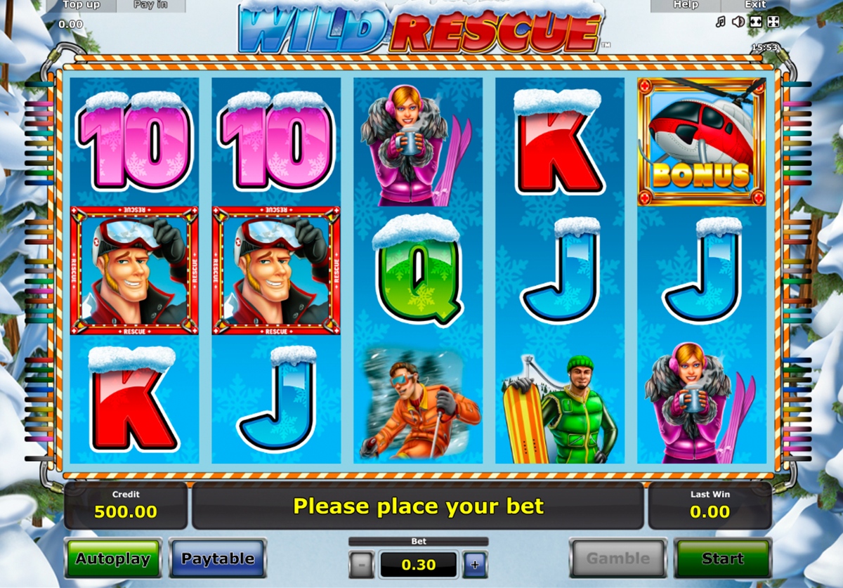 Wild Rescue Slot Machine - Play Free Novomatic Slots Online