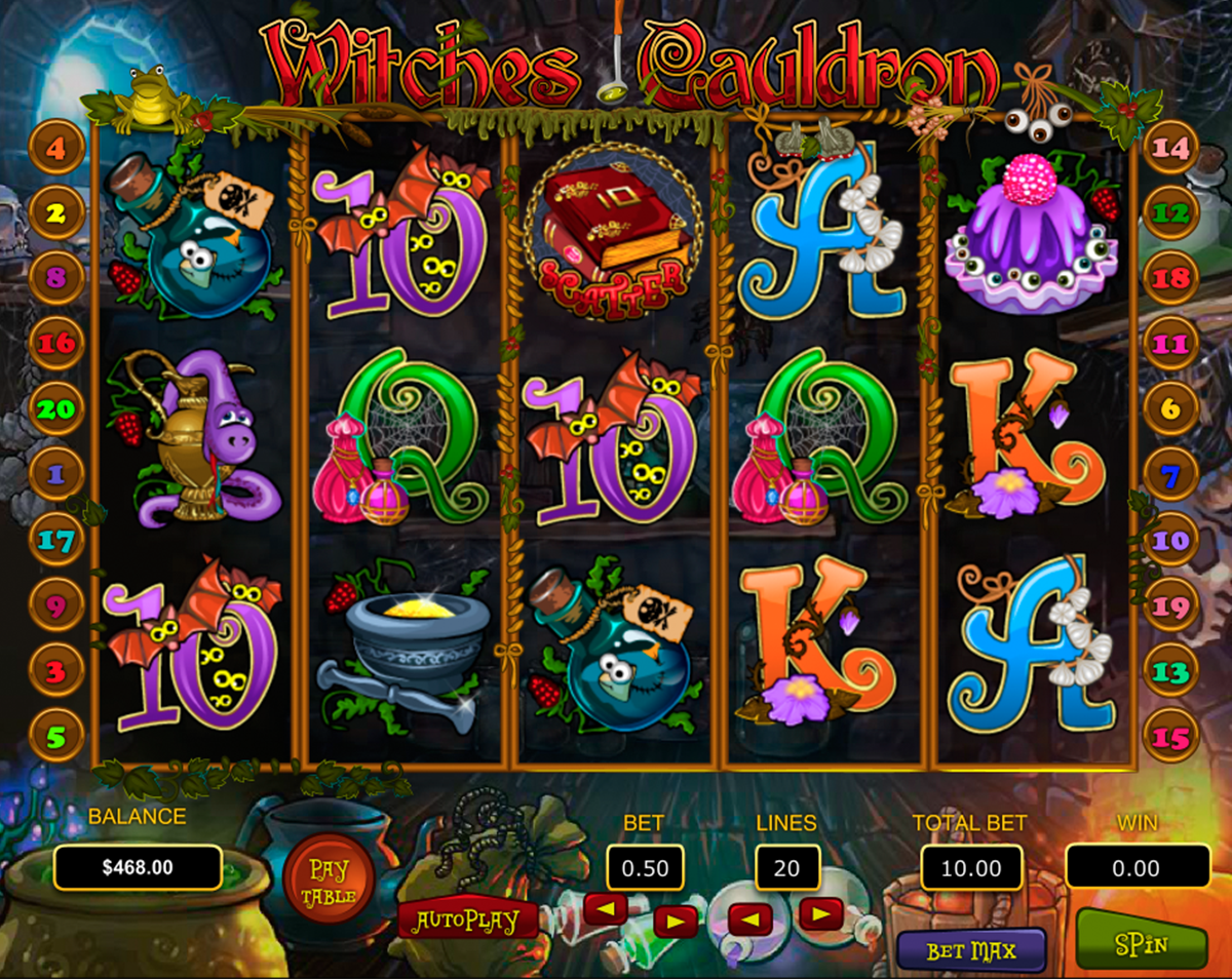 witches cauldron pragmatic online slots