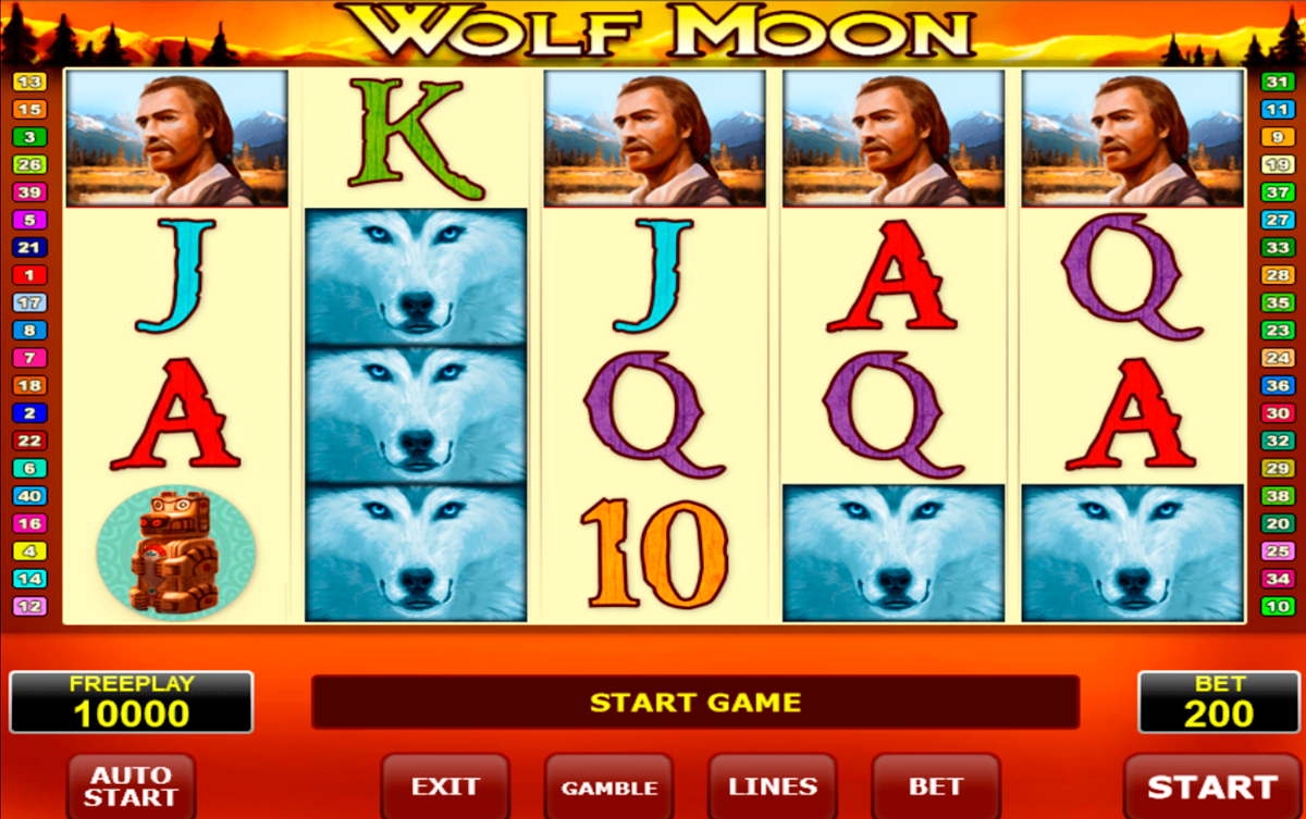 wolf moon amatic online slots