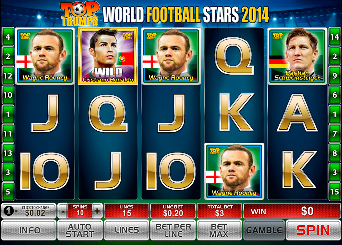 world football stars 2014 playtech online slots