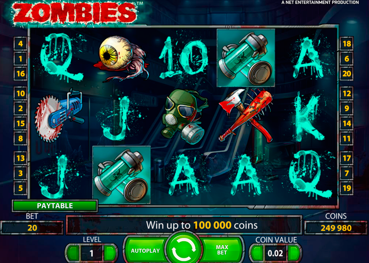 Play walking dead slot machine online